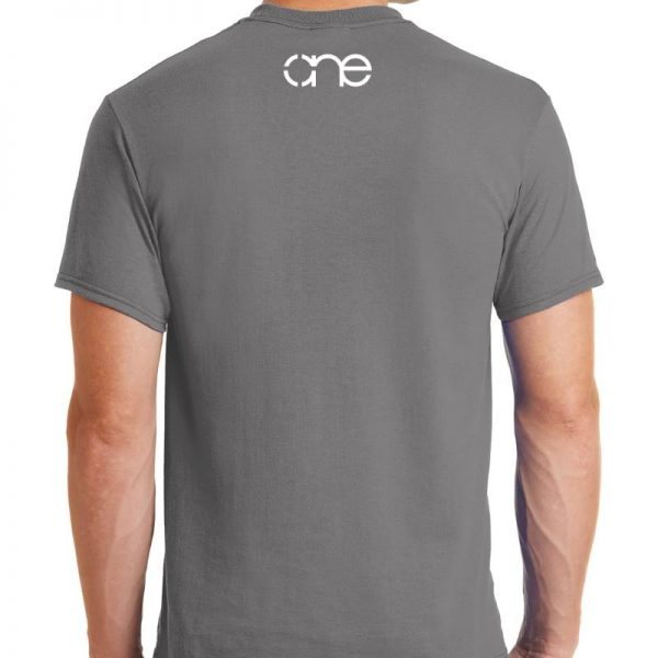 medium-grey-short-sleeve-shirt-rear-one-white-upper-back