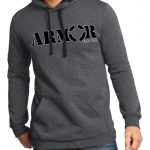 Armor of God, Heather Charcoal, Hoodie Pull-over.