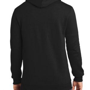 Unisex One Black Hoodie Rear