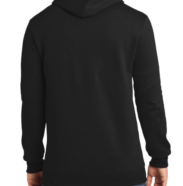 Unisex One Black Hoodie Rear