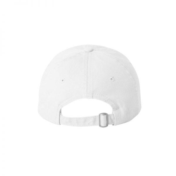 "White ""One"" Dad Cap with Black logo 9584b94c3e1"