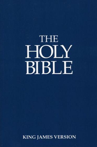 The Holy Bible, KJV, Economy Edition.