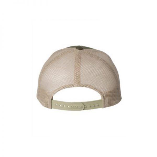 2cbee13fd One Trucker Hat, Olive and Khaki, Snapback